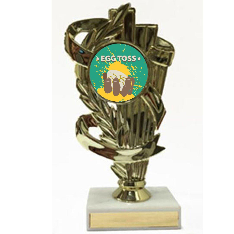 Egg Toss Gold Trophy