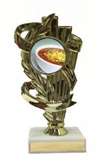 Chili Bowl Cook Off Trophy