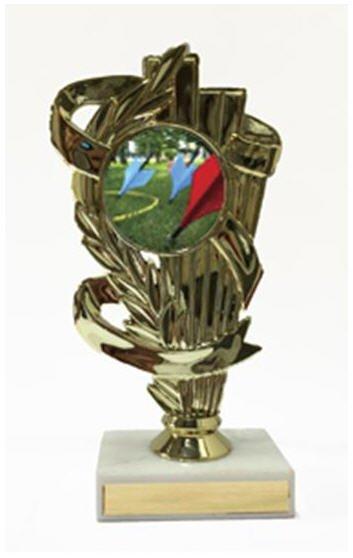 Lawn dart Trophy