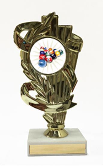 Billiard 2 Illustration Trophy