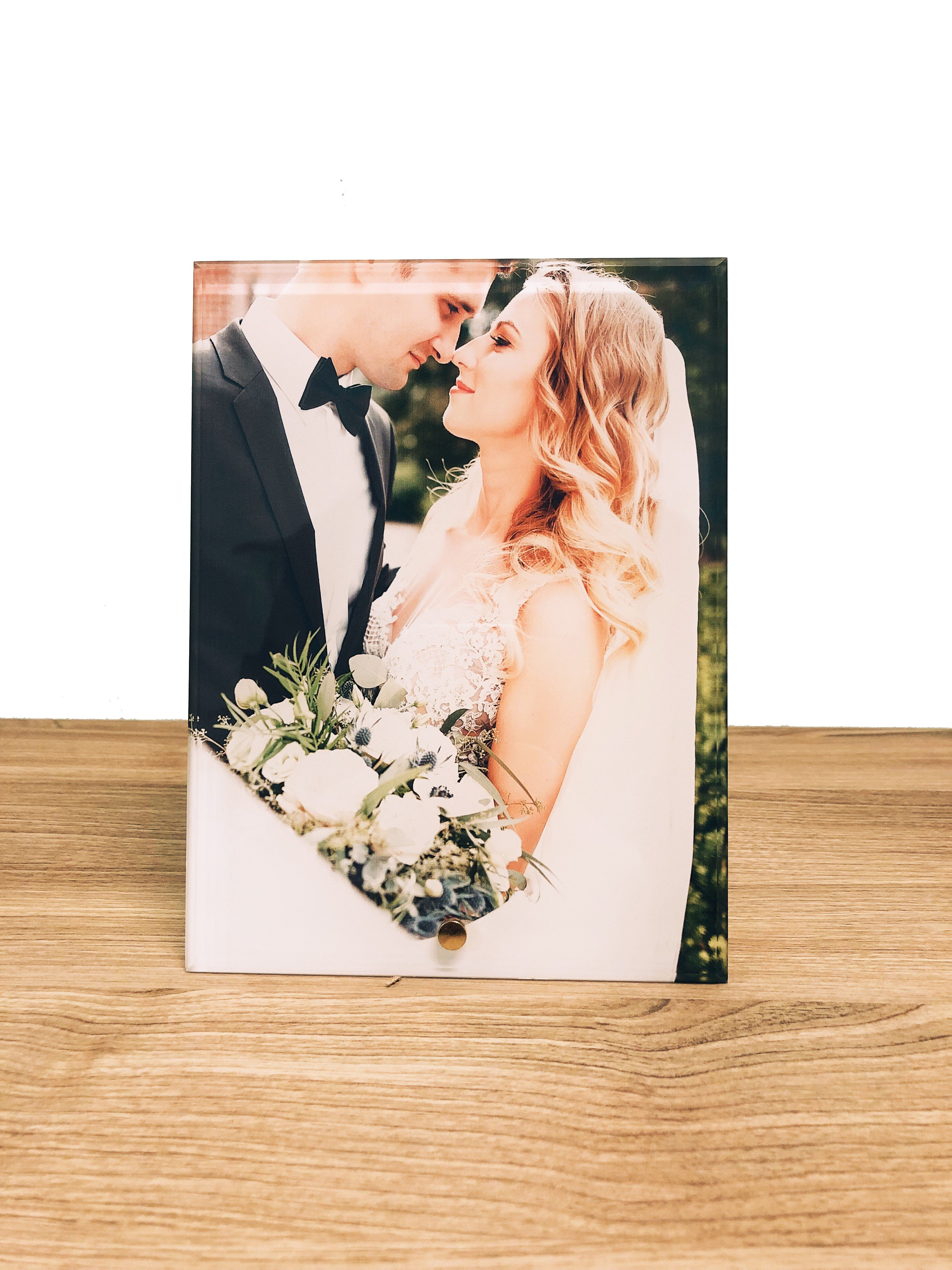 Personalized Glass Photo Print