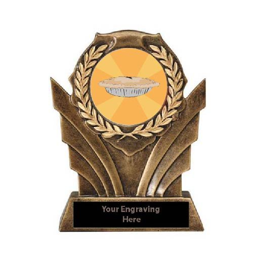 Best Thanksgiving Pie Victory Resin Trophy