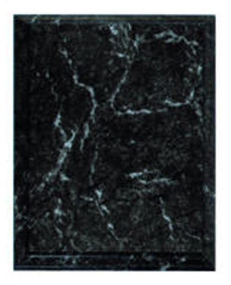 Black Marble Plaque