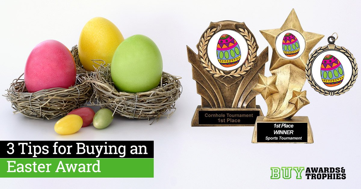 3 Tips for Buying an Easter Award