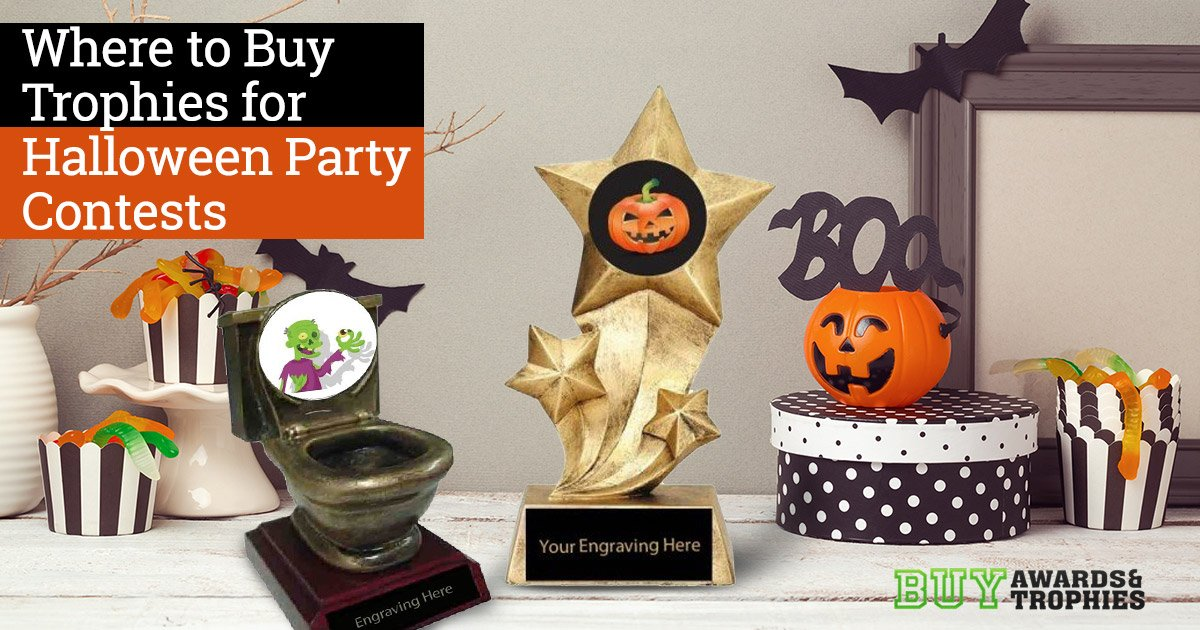 Where to Buy Trophies for Halloween Party Contests