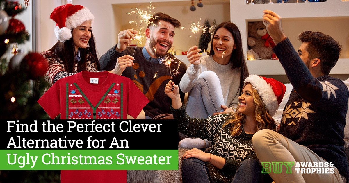 Find the Perfect Clever Alternative for An Ugly Christmas Sweater
