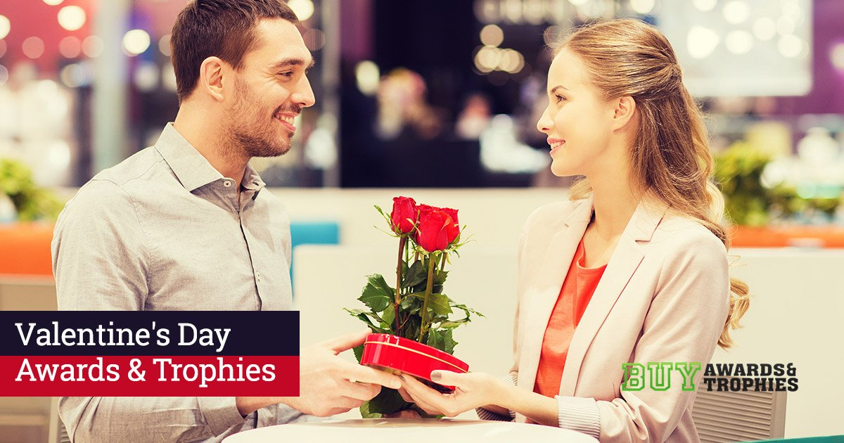 Creative Ways to Show Your Valentine's Love With Awards and Trophies