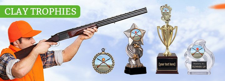 Ordering Custom Clay Shooting Trophies