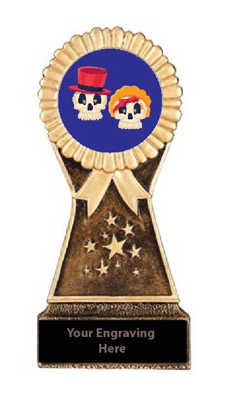 Resin Stand Halloween Cutest Couple Trophies
