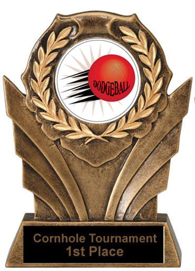 Victory Resin Dodgeball Trophies