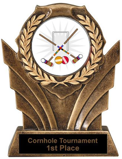 Victory Resin Croquet Trophies