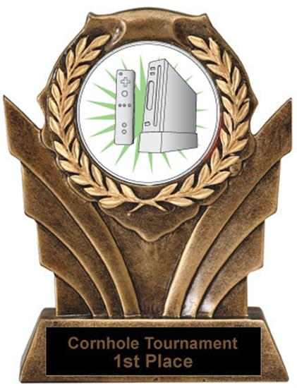 Wii Victory Resin Trophies