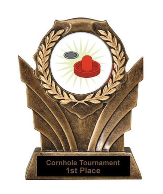 Air Hockey Victory Resin Trophy