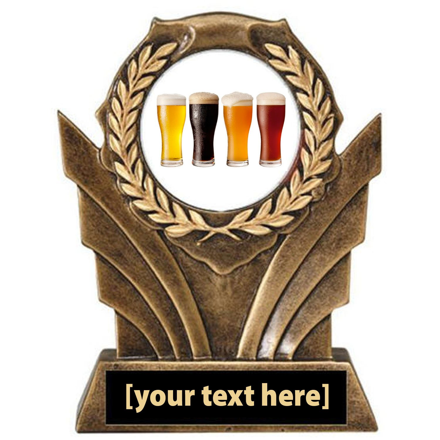 Beer Tasting Victory Resin Trophy