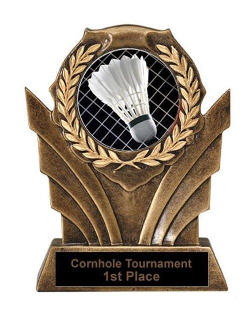 Victory Resin Badminton Trophies