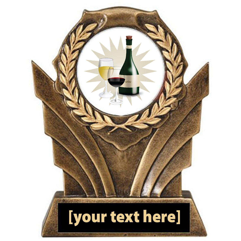 Wine Tasting Victory Resin Trophy