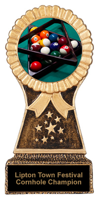 Billiard Resin Stand Trophy