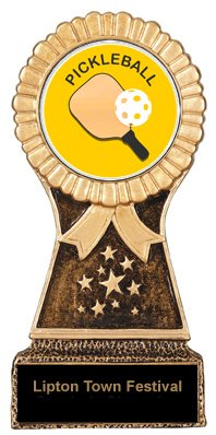 Pickleball Star Stand Trophy