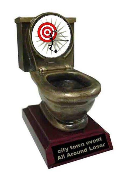 Archery Toilet Trophy