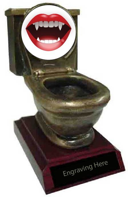 Sexiest Costume Toilet Trophy