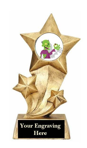 Most Creative Halloween Costume Rising Star Trophy