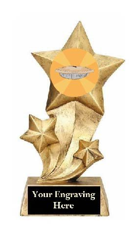 Resin Stars Best Thanksgiving Pie Trophy