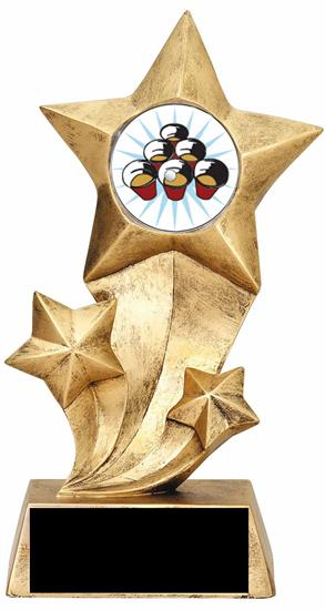 Resin Stars Beer Pong Trophy
