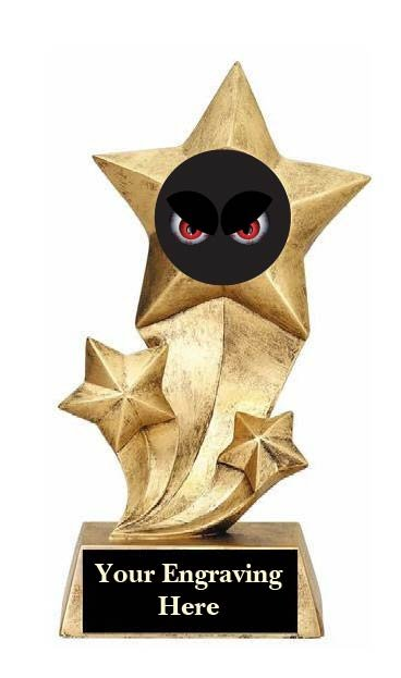 Scariest Halloween Costume Rising Star Trophy