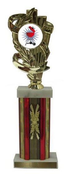 Barbecue Cook Off Column Trophy