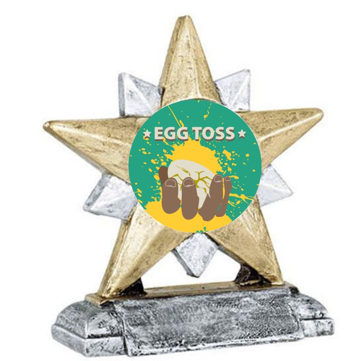 egg toss trophy