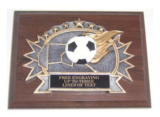 Soccer Resin Plaque
