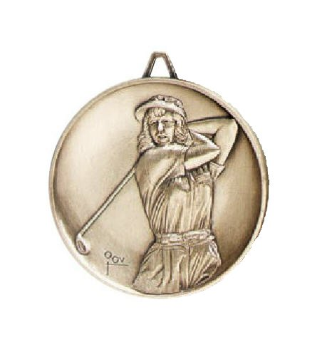 Golf Female Medal