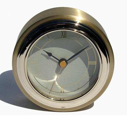 Gold Desk Clock