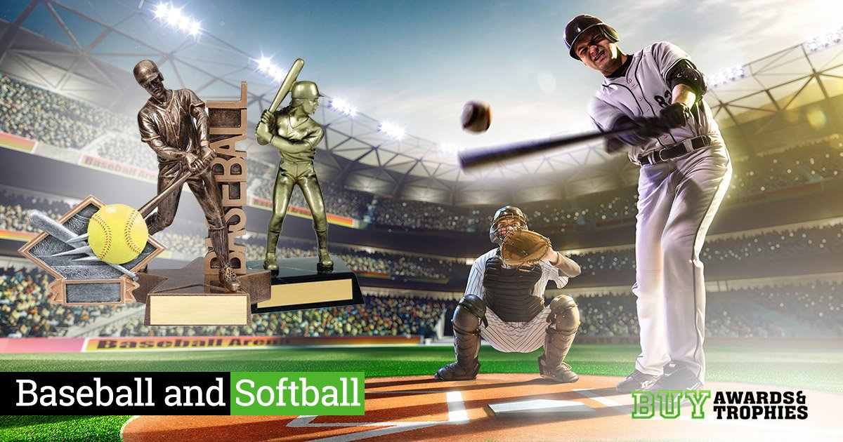 Awards and Trophies for Baseball and Softball Teams