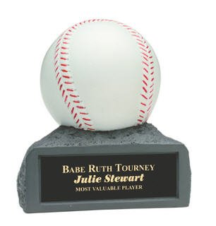 Baseball 4 Inch Resin Trophy