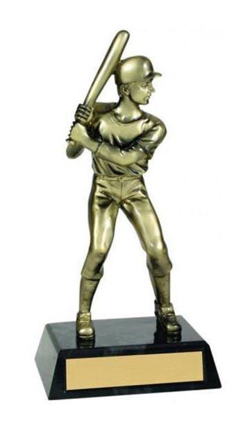 Baseball Metallic Trophy