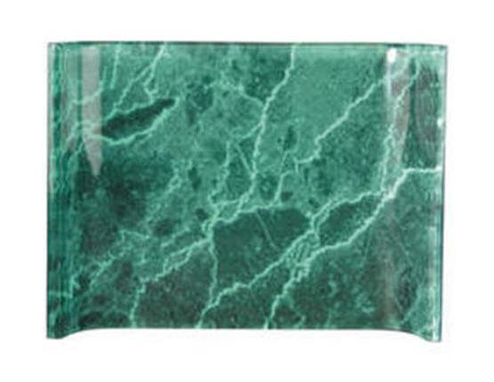 Green Marble Acrylic Crescent