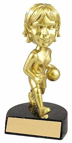 Female Basketball Bobble Head Trophy