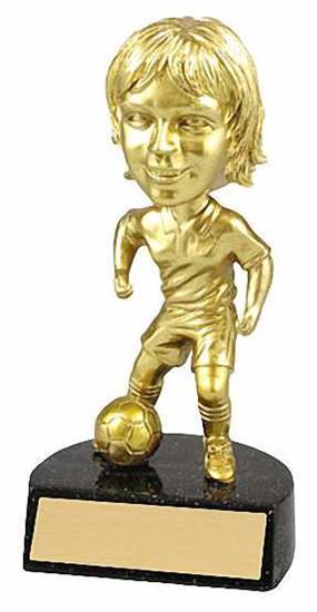 Female Soccer Bobble Head Trophy