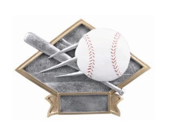 Baseball Diamond Trophy