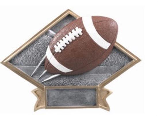 Football Diamond Trophy