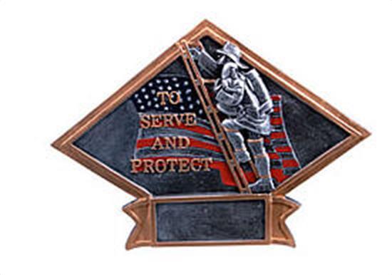 Fireman Diamond Trophy