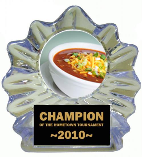 Chili Bowl Cook Off Ice Flame Award