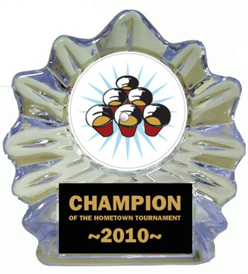 Beer Pong Ice Flame Award