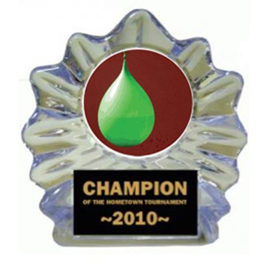 Water Balloon Toss Ice Flame Award