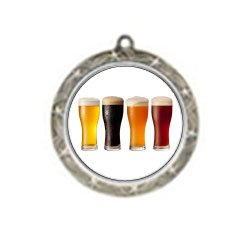 Shooting Star Beer Tasting Neck Medal