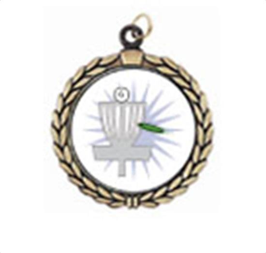 Victory Frisbee Golf Neck Medal