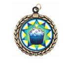 Victory Cupcake Neck Medal