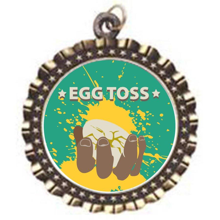 Egg Toss Neck Medal