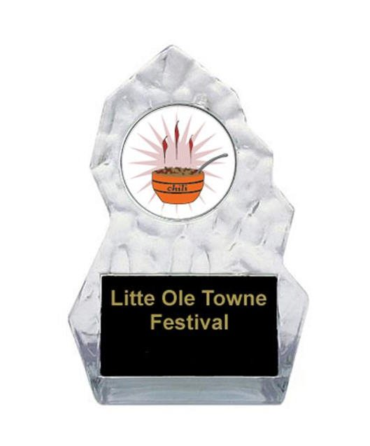 Lightning Sculpted Chili Cook Off Trophy